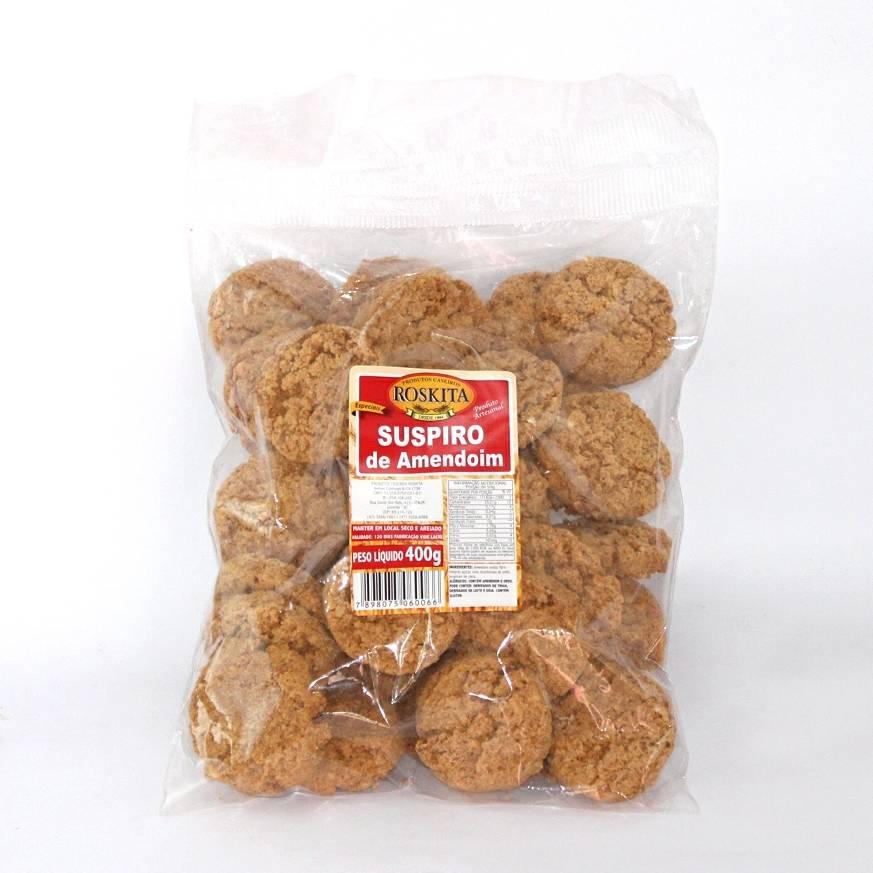 Suspiro de Amendoim 400g/250g